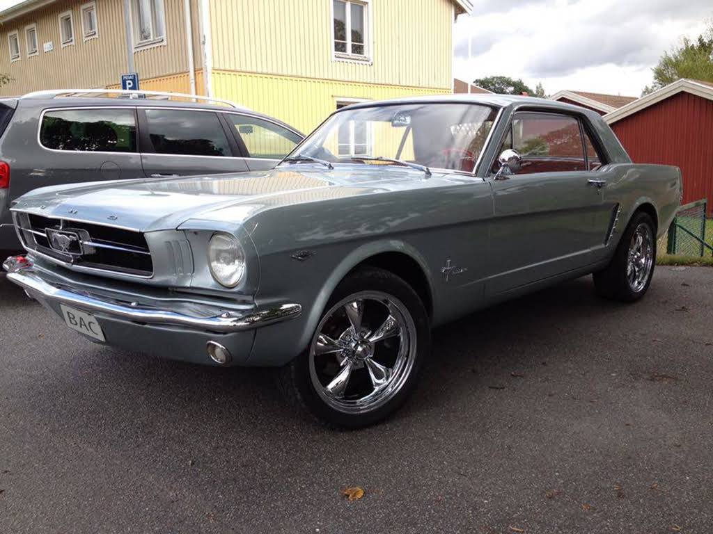 Ford Mustang Hire Kyrkhult