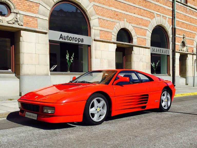 Ferrari 348 TB Hire Nacka