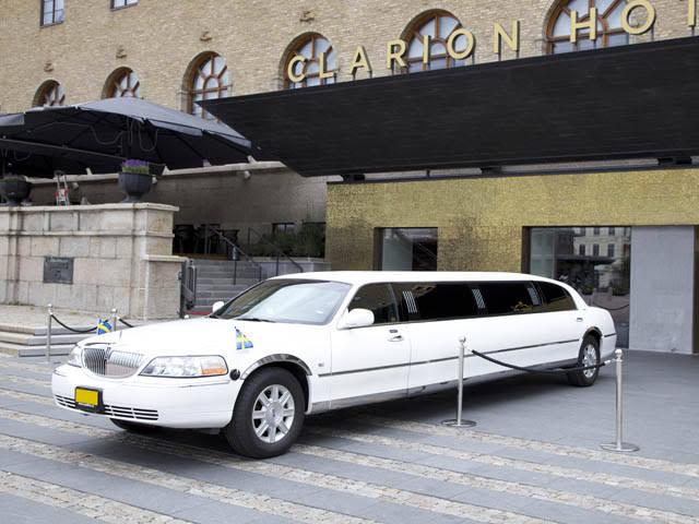 Lincoln Towncar Limousine Hire Göteborg