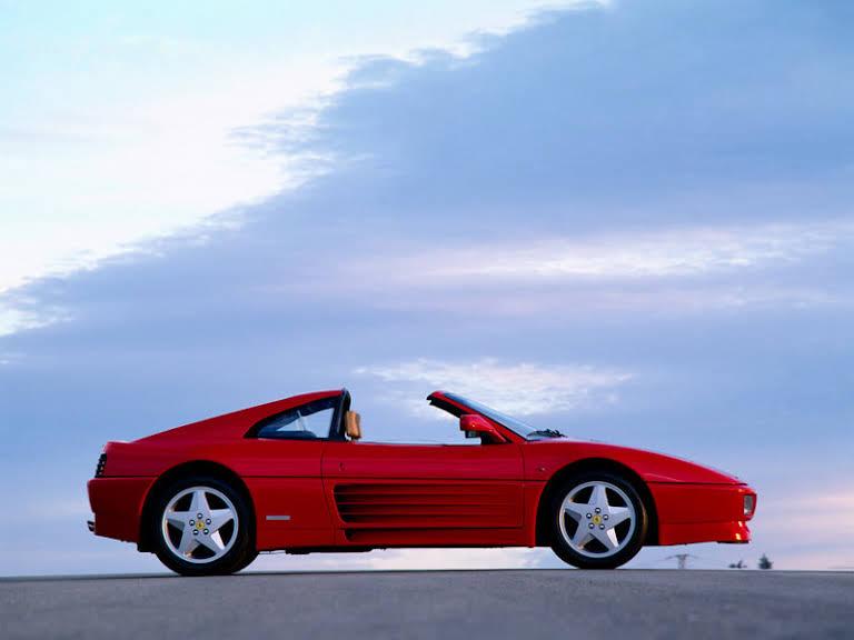 Ferrari 348 GTS Hire Täby
