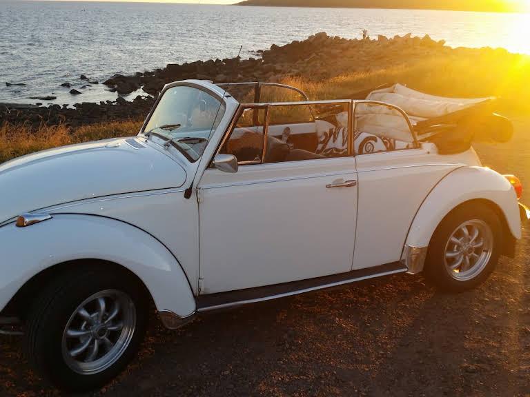 Volkswagen Cabriolet Hire Halmstad
