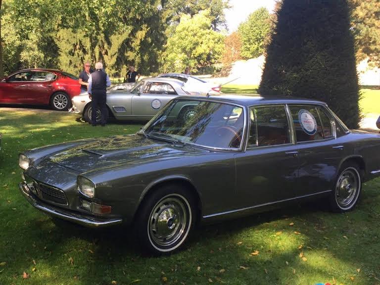 Maserati Quattroporte Hire Ingarö
