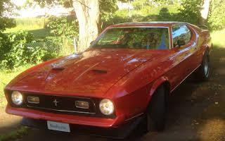 Ford Mustang Mach1 Rent Dalarna