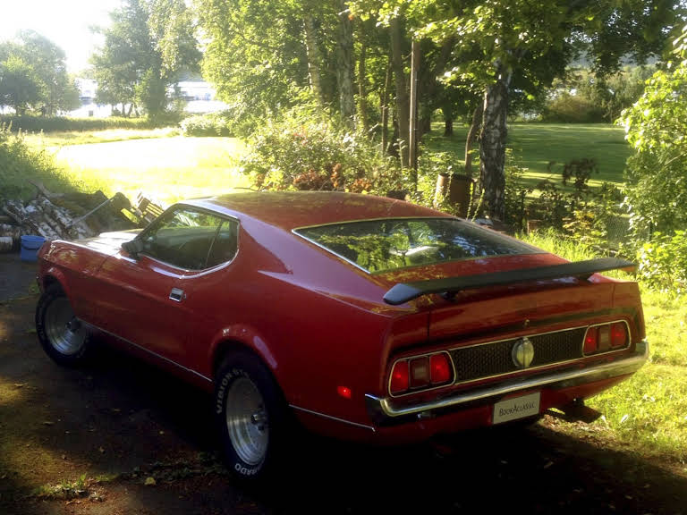 Ford Mustang Mach1 Hire Smedjebacken