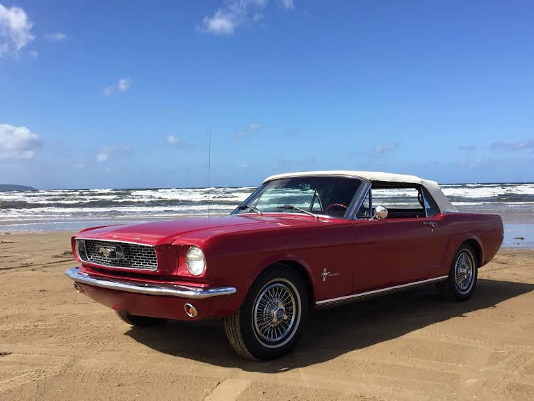 Ford Mustang Hire Malmö