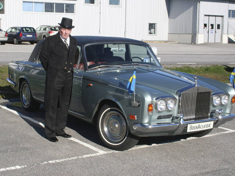 Rolls Royce limousine Hyra Västra Götaland Hire Dingle