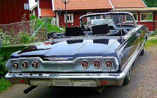 Chevrolet Impala Cabriolet Rent Södermanland