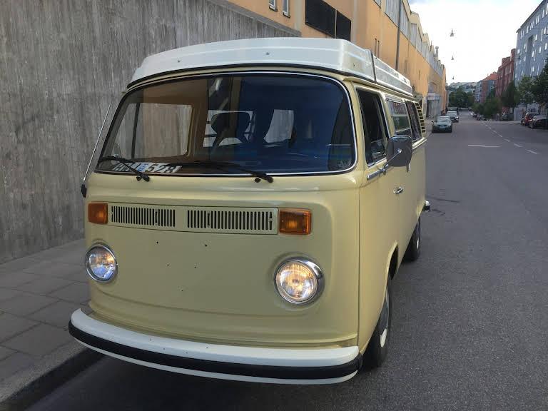 Volkswagen Westfalia Camper Hire Stockholm
